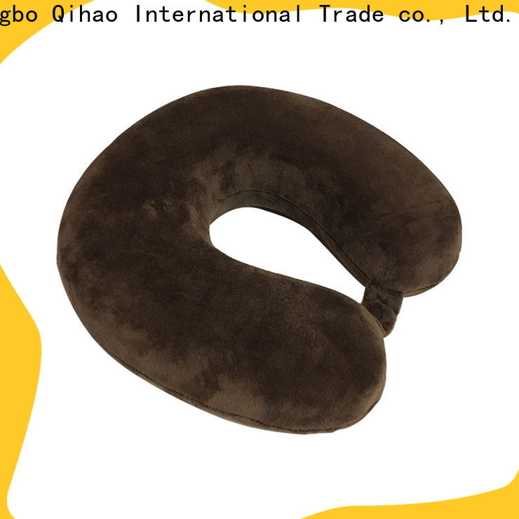 Best neck support travel pillow cover factory for business trip