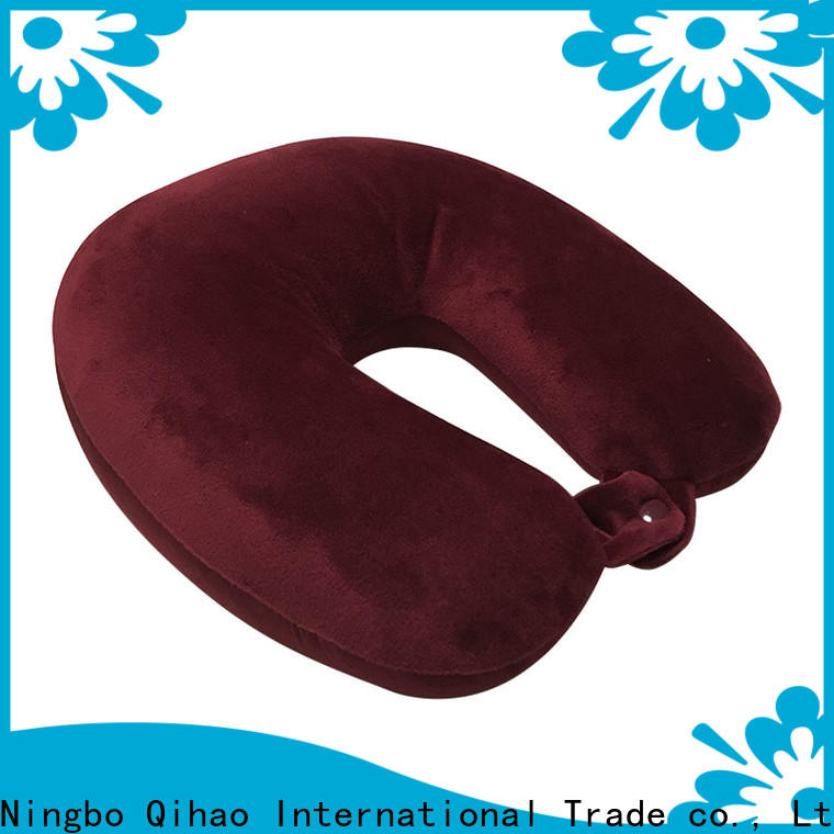 Qihao New neck rest pillow for travel suppliers for sleeping