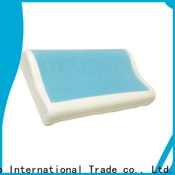 Best gel contour pillow foam factory for business trip