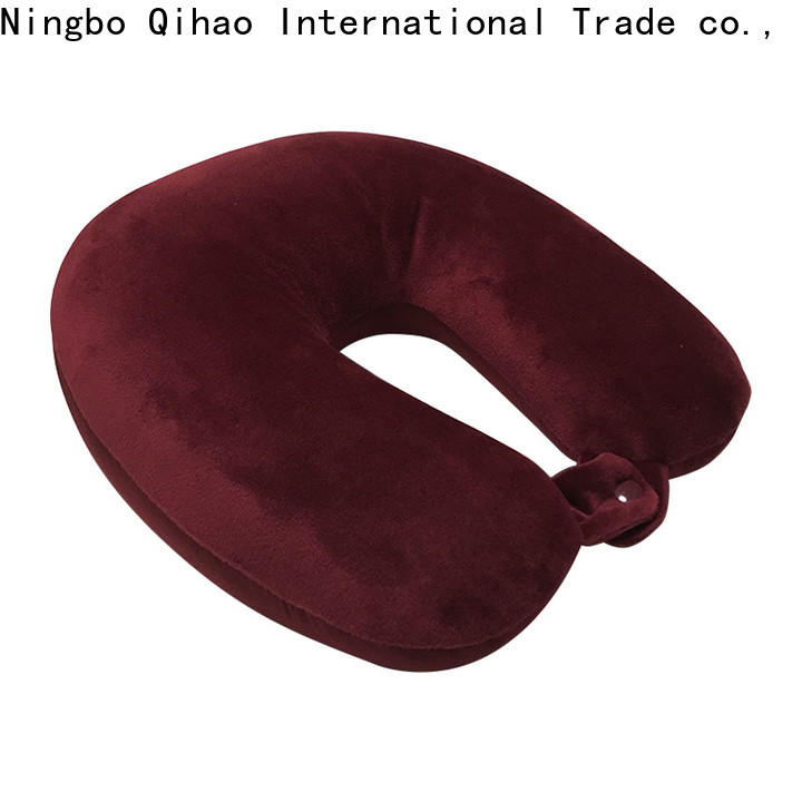 Qihao High-quality u shaped travel pillow for business for a rest