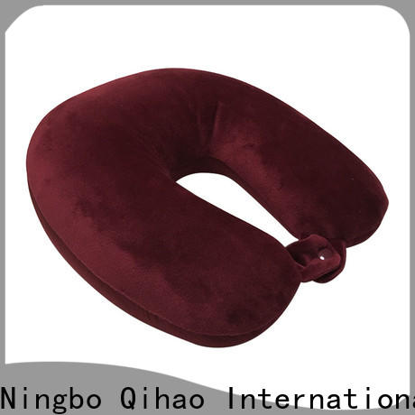 Qihao Latest best neck support travel pillow factory for student