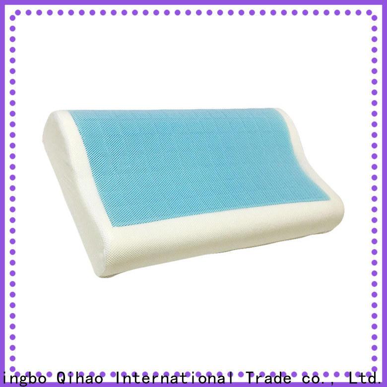 Qihao memory gel contour pillow suppliers for a rest