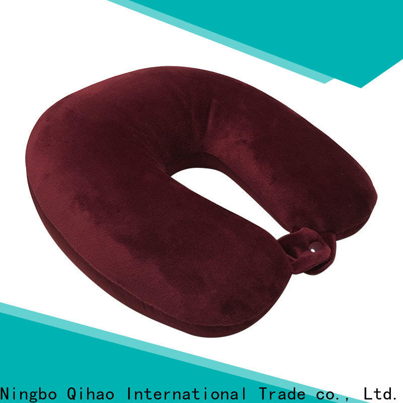 Latest microbead travel pillow travel supply for sleeping