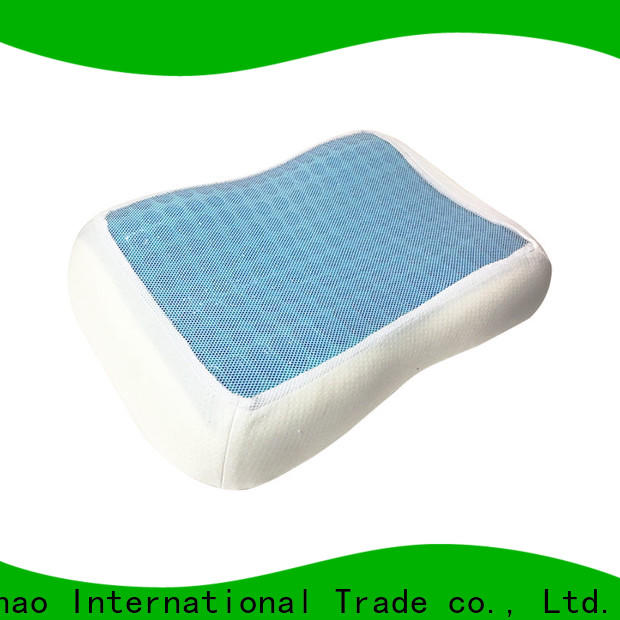 Qihao cool contour gel pillow suppliers for a rest