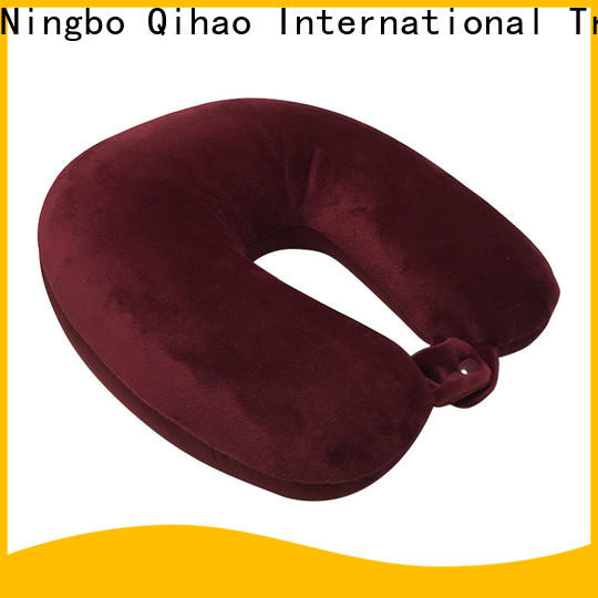 Latest best neck support travel pillow solid supply for travel