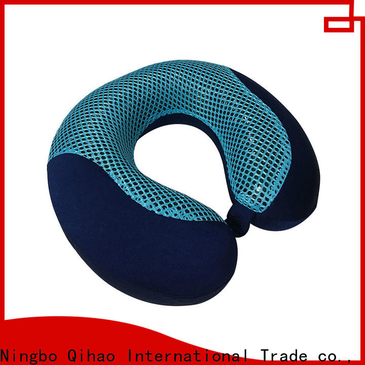 Qihao memory cooling gel travel pillow company for business trip