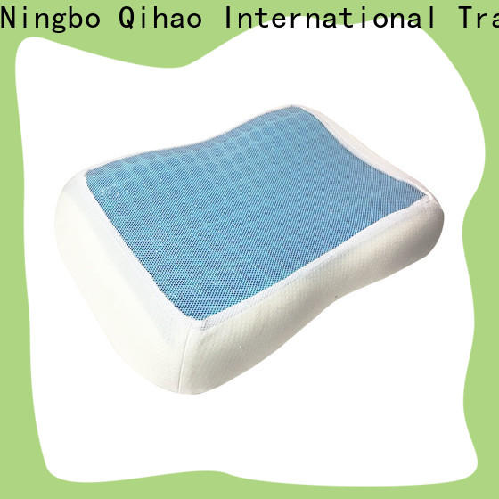 Latest best gel pillow qihao supply for sleeping