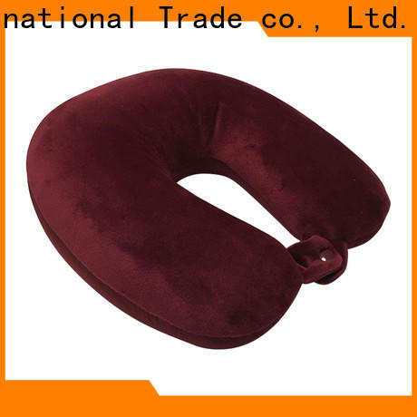 Qihao High-quality best travel pillow for planes manufacturers for businessmen