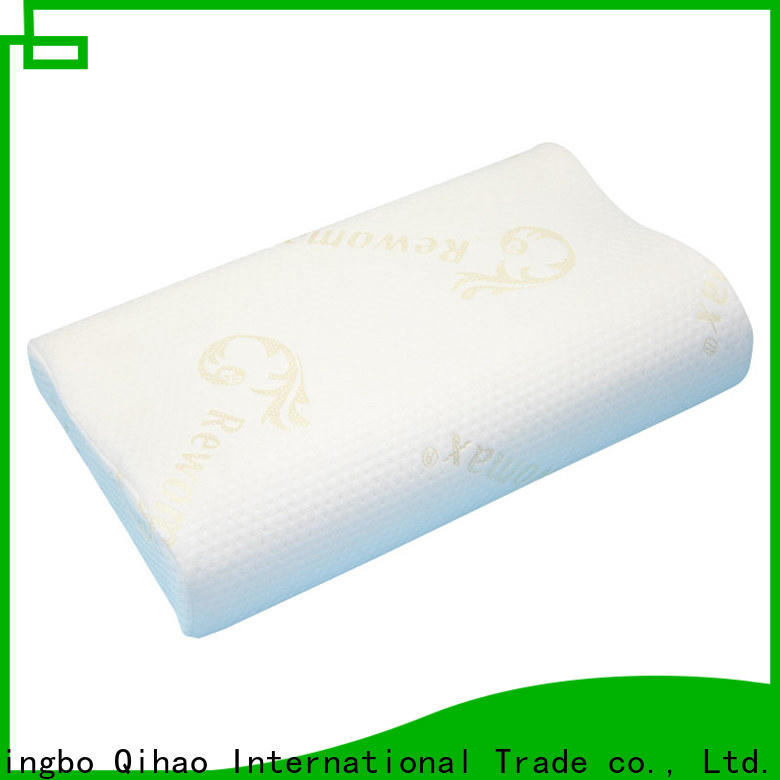 Qihao foam slow rebound pillow supply for sleeping