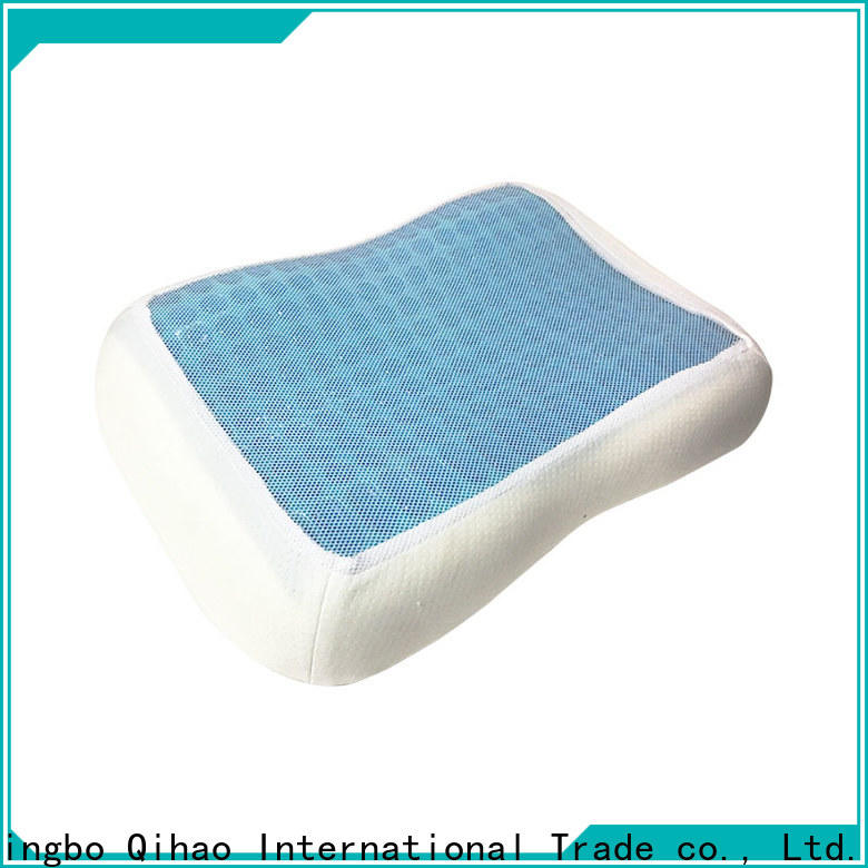 Qihao sandwich contour gel pillow manufacturers for a rest