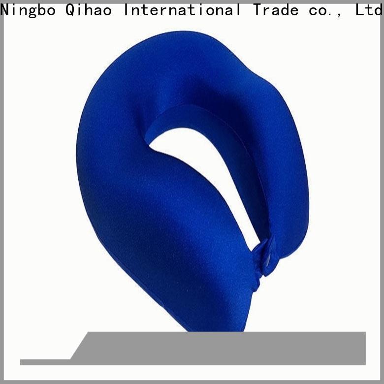 New best neck pillow for flying velvet factory for travel