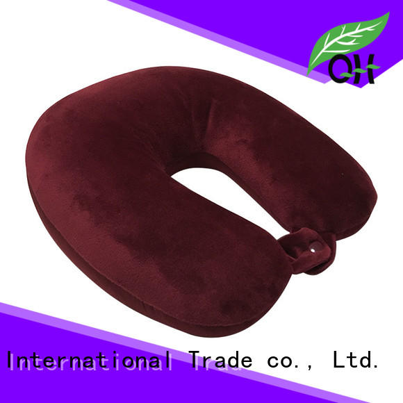 Qihao environmental microbead travel pillow order now for a rest