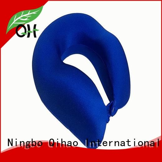 Qihao Cool Feel neck support travel pillow company for sleeping