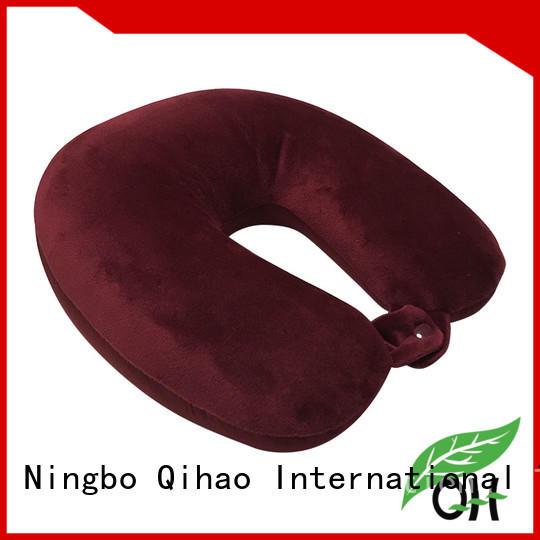 OEM go travel memory foam pillow shape supply for sleeping