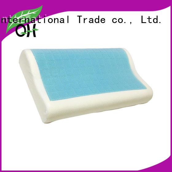 sandwich memory foam and gel pillows gel for office Qihao