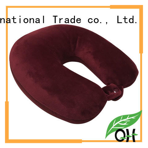 Qihao Custom best airplane neck pillow factory for a rest
