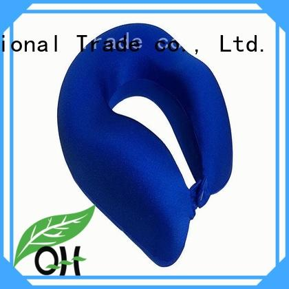 Qihao ufo memory foam travel neck pillow factory for travel