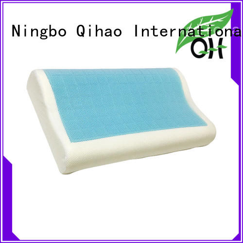 Qihao layer contour gel pillow supply for travel
