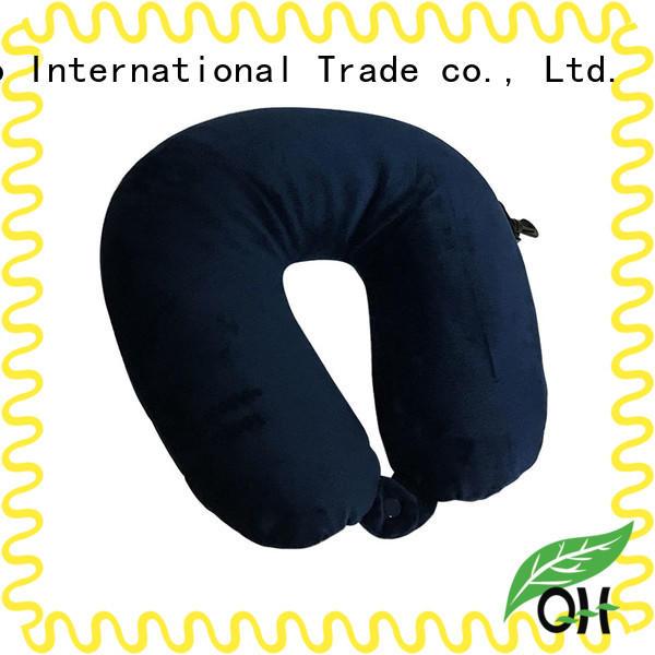 Qihao OEM best airplane neck pillow bulk production for businessmen