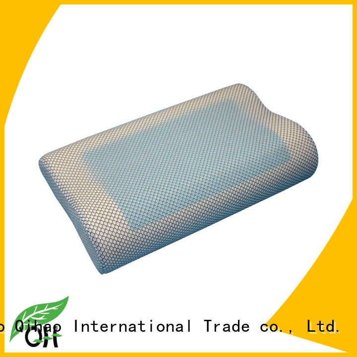 Qihao high-quality cool gel memory foam pillow king size layer for sleeping