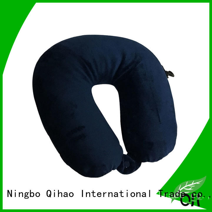 Qihao travel neck rest pillow for travel company for a rest