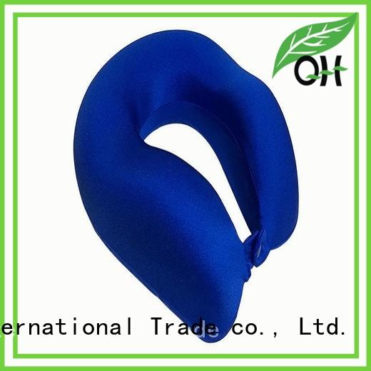 Qihao neck best travel neck pillow manufacturers for business trip