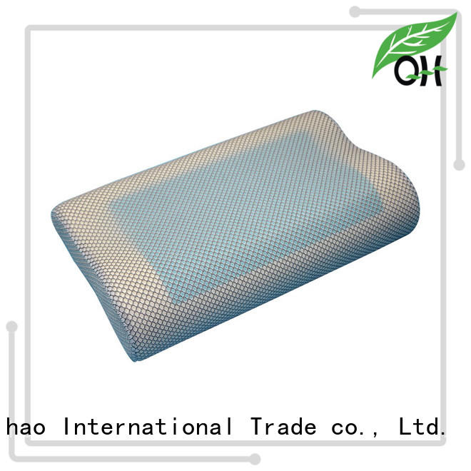 Qihao touch contour pillow company for sleeping