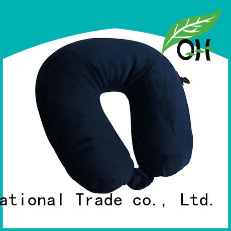 Wholesale best neck support travel pillow spandex manufacturers for a rest