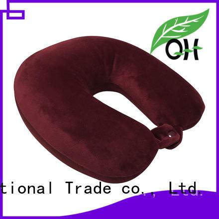 OEM memory travel pillow free design for businessmen
