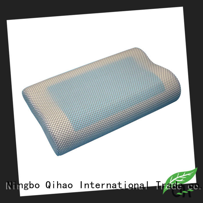 Qihao portable contour gel pillow manufacturers for sleeping