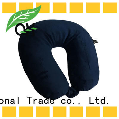 Wholesale best airplane neck pillow shape manufacturers for businessmen
