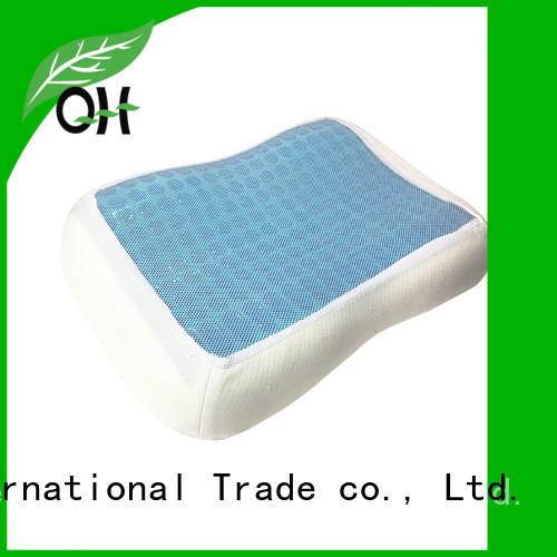 Qihao Cool touch gel pillow factory for office