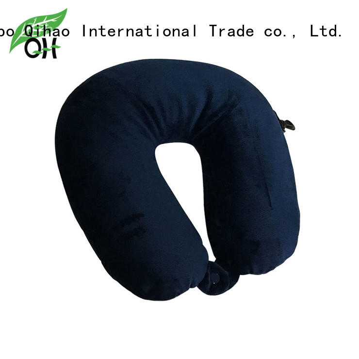 Qihao hook best airplane neck pillow factory for a rest
