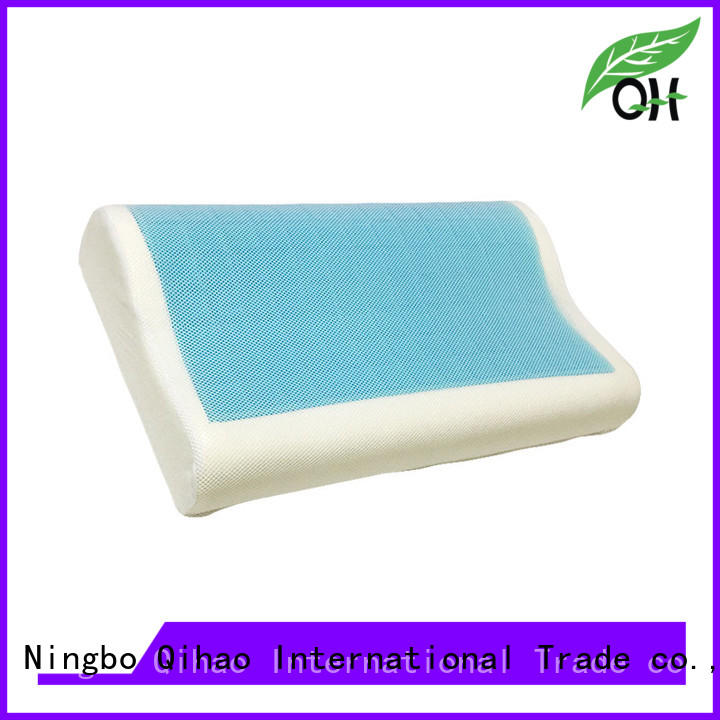 Qihao touch contour gel pillow for business for a rest