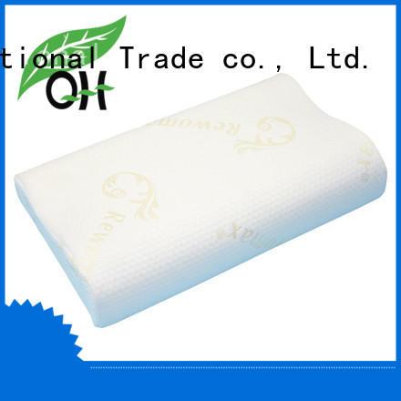 Qihao foam Viscoelastic foam pillow factory for businessmen