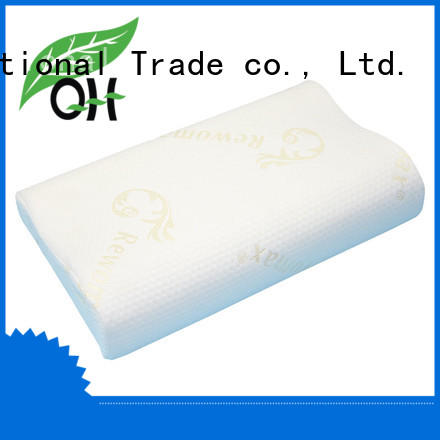 Qihao foam Viscoelastic foam pillow factory for businessmen