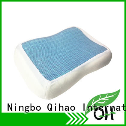 Qihao high-quality the best cooling gel pillow memory for business trip