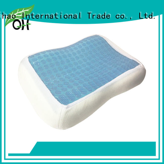Qihao cover gel pillow factory for business trip