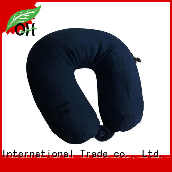 fine- quality neck rest pillow for travel pearl factory price for sleeping