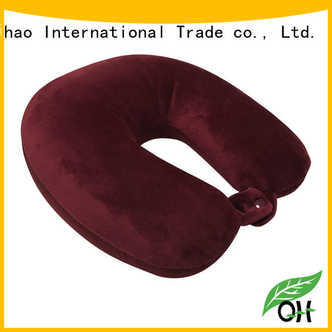Qihao mb301 best airplane neck pillow factory for a rest