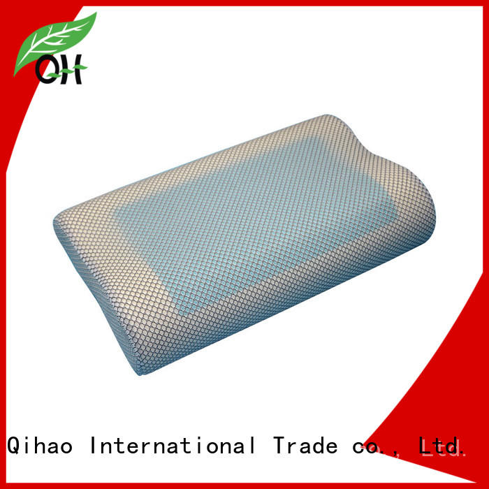Qihao memory contour pillow factory for office
