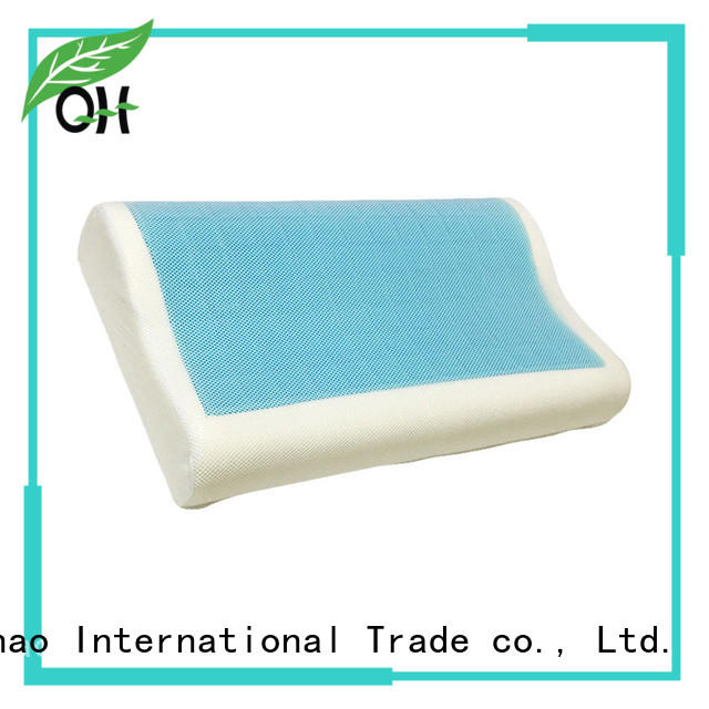 Qihao nice contour gel pillow manufacturers for business trip