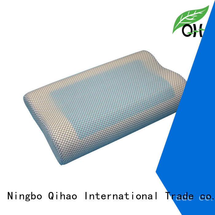 Qihao sandwich best gel pillow manufacturers for travel