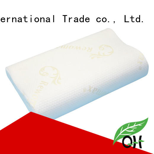 Qihao Best king size memory foam pillow manufacturers for student