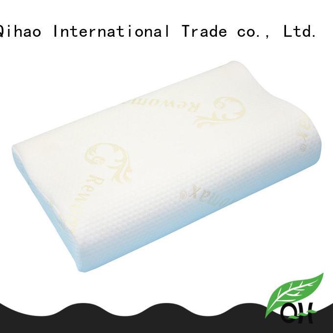 Qihao foam sleeping pillow supplier for businessmen