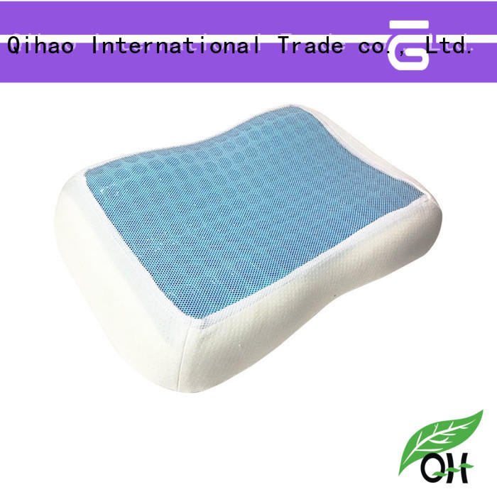 Best best gel pillow qihao manufacturers for travel