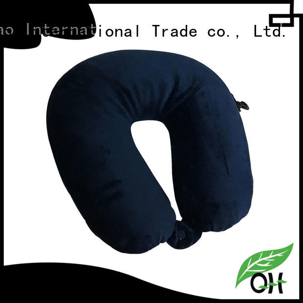 Qihao travel best travel pillow for airplane supply for travel
