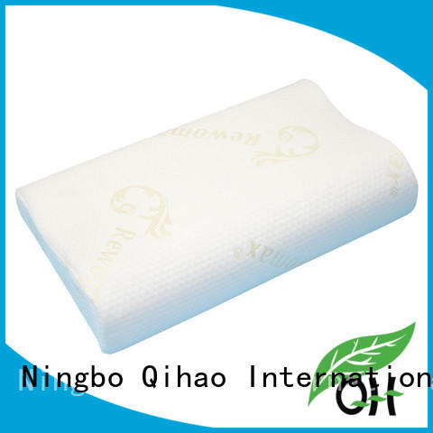 Qihao quality memory foam pillow for back pain cover for sleeping