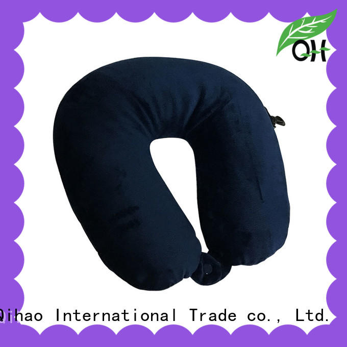 Qihao qihao best air travel pillow free design for travel
