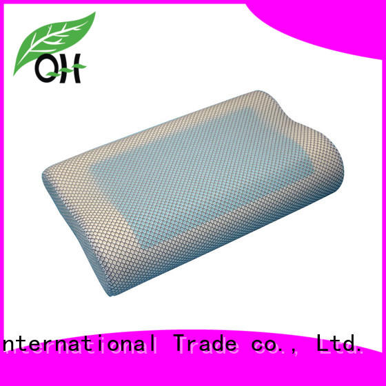 Custom contour gel pillow pillow manufacturers for business trip